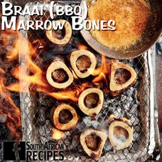 South African Recipes | BRAAI (BBQ) MARROW BONES WITH CHIPOTLE BUTTER