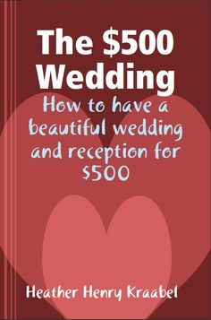 I want to find this book; the reviews looks great! I don't want to spend 50k, or make my parents broke, on my wedding!