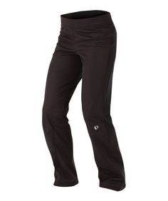 Look at this #zulilyfind! Pearl Izumi Black Fly Softshell Run Pants by Pearl Izumi #zulilyfinds