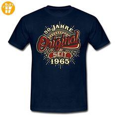 Geburtstag 50 Jahre Original RAHMENLOS® Männer T-Shirt von Spreadshirt®, 3XL, Navy - Shirts zum 50 geburtstag (*Partner-Link)
