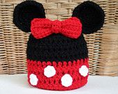 $2.99~Disney Mickey Mouse Crochet Pattern Set - Tissue Box and Toilet Paper Covers. $2.99, via Etsy.
