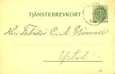Tjänstebrevkort 7 1918