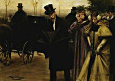 After the Ball by Roman Ribera Cirera (Spanish 1849-1935)