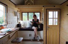 Young Lady's $18k DIY Baluchon Tiny House