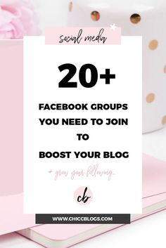 20+ Facebook Groups You Need To Join To Boost Your Blog - Chicc Blogs Joining a Facebook Support Group is one of the best things you can do to boost your blog, gain new followers and get more engagement.  The blogging community is so incredibly supportive and I really recommend getting involved and networking with other bloggers.  These groups on facebook have helped me grow my pinterest account, get...Read More