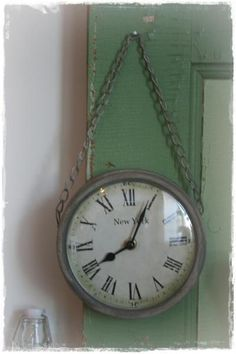 """Makes me wish I had inherited my great-grandfather's pocket watch. I have vague memories of him checking the time regularly so he wouldn't be late for church, to make sure the mailman was on time, & so he wouldn't miss a moment of the old TV show, """"Gunsmoke"""". Makes me smile :)  ~ Belle}"""