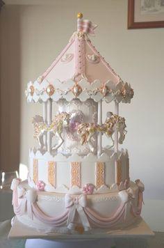 Fabulous carousel cake