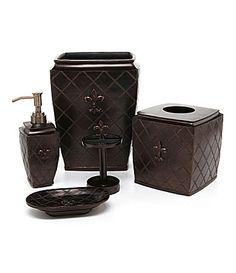 Bath accessories dillards and bath on pinterest - Dillards bathroom accessories sets ...