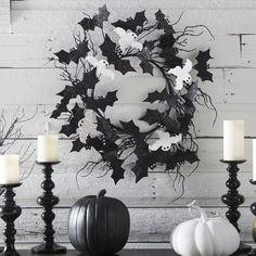 Halloween Bats Wreaths | Halloween Wikii