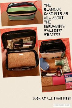 Thirty-One Glamour Case as office on the go!