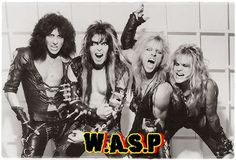 Wasp Hair Metal Bands, 80s Hair Bands, The Heavy Band, Vince Neil, Heavy Metal Rock, Twisted Metal, Band Wallpapers, Music Pics, Music Stuff