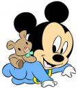 Use these baby mickey mouse clipart. Baby Mickey Mouse, Mickey Mouse E Amigos, Mickey Mouse Clipart, Disney Clipart, Mickey Mouse And Friends, Disney Mickey, Disney Art, Walt Disney, Baby Disney Characters