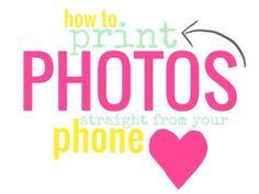 Tutorial: Print Photos Directly From Your iPhone - rukristin