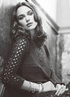 Keira Knightley photographed by Emily Hope 2014.  photoshoot, fashion