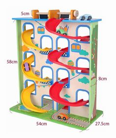 Crazy Curve Car Park - Mentari via Online and In-Store at areas in Hampton, Hawthorn, Berwick, Sorrento in Victoria. Wooden Car, Wooden Toys, Garage Construction, Old Fashioned Toys, Wooden Tool Boxes, Green Toys, Take Apart, Bath Toys, Toy Store