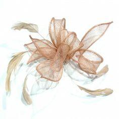 elastique cheveux ou bracelet avec fleur - rose poudré €9.90 http