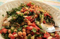 Le blog de Clementine: Salade de pois chiches