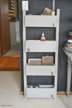 Wall Organizer Made From Pallets | Hometalk