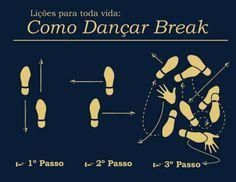 Aprenda a dançar Break em três passos! | Capinaremos