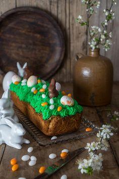 Super saftiger Rüblikuchen – Carrot-Cake – mit Mascarpone-Topping Super, Maya, Desserts, Food, Mascarpone, Cinnamon Cookies, Chocolate Bunny, Amazing Cakes, Fast Recipes