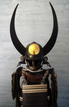 Composite-armor from Edo period, iron 62ken kabuto with big Meiji or Showa re-lacquerd wooden wakidate, a iron hanpo, iron okegawa dou with sabiji lacquer, nerikawa sode, iron kote, nerikawa haidate covered by gold leaf and iron suneate,Showa hitsu.