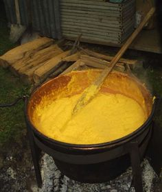 The famous Polenta of the North of Italy