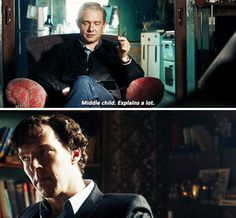 """""""7 years between myself and Sherlock, 1 year between Sherlock and Eurus"""""""