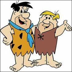 Fred Flintstone and Barney Rubble (credit: Boomerang) Retro Cartoons, Old Cartoons, Classic Cartoons, Vintage Cartoon, Funny Cartoon Pictures, Cartoon Gifs, Cartoon Images, Cartoon Art, Party Cartoon