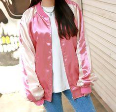Korea harajuku baseball jacket