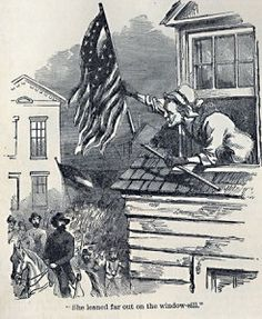 Shoot if you must this old gray head, but spare your country's flag - Appalachian History American Civil War, American History, Song Of The South, Stonewall Jackson, Union Flags, History Of Photography, S Stories, Troops, Lincoln
