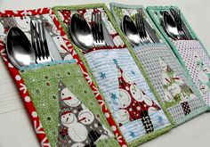 Cute idea for placemats too