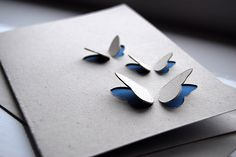 I love the simplicity of this butterfly card by Ruby Wren Designs.