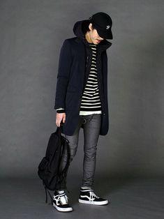 LOUNGE LIZARDのチェスターコート「NY TASLAN CHINO チェスターコート」を使ったSessionLoungeLizard(LOUNGE LIZARD)のコーディネートです。WEARはモデル・俳優・ショップスタッフなどの着こなしをチェックできるファッションコーディネートサイトです。