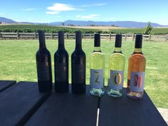 Newly release Zonzo Estate wines!