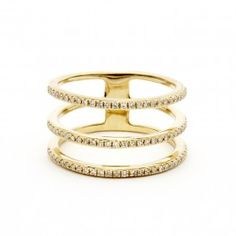 Three Band Midi Ring | Willow Roe | Goop.com