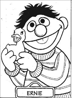 sesame street coloring pages bing images - Sesame Coloring Pages