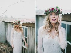 Featured on Hello May » Bohemian Blue Mountains Wedding Inspiration