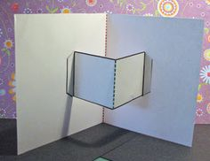 Extreme Cards and Papercrafting: Attaching Pop Up Mechanisms with Tabs and Slots {Throwback Thursday}