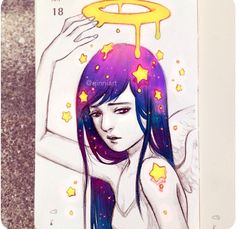Eli by qinni Pretty Art, Cute Art, Goodnotes 4, Art Sketches, Art Drawings, Art Calendar, Unicorn Art, Realism Art, Beauty Art