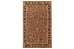"Series Name:	Hensley - Rust  Item Name:	Medium Rug  Model #:	R096002  Dimensions:	60""W x 93""D x .35""H  Weight:	25 lbs"