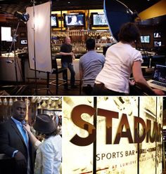 Building a Stadium — with help from Marshall Faulk