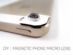 Cafe Craftea: DIY | Magnetic Phone Macro Lens