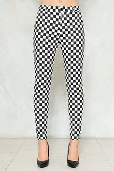 ff919c6ceb Check Please Checkerboard Pants Check Please