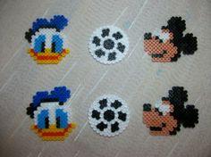 Mickey et Donald en perle hama