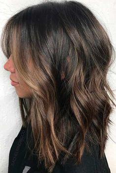 Posh Medium Length Hair Styles and Cuts ★ See more: http://glaminati.com/medium-length-hair-styles-cuts/