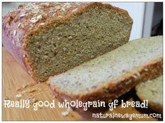 Really good wholegrain gluten free bread!