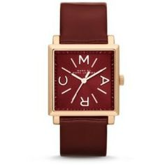 Cheap Marc-Jacobs Truman Rose Tone Maroon Leather Watch Mbm1277 Red price - Traditional with a twist the rose gold-tone stainless steel and deep maroon calf leather Truman three-hand watch takes its inspiration from the graphic plaids of the Fall 2013 fashion...