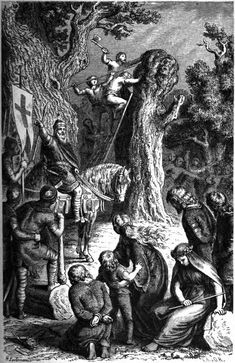 English Historical Fiction Authors: Did the Pagans Kill the Saints to Save Their Community?