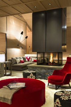 Chalet by Sybille de Margerie in Courchevel