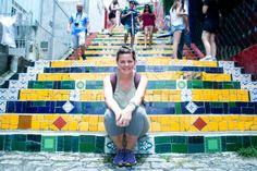 escadaria Selaron   Río de Janeiro   Brasil